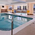 Swimming pool at Fairfield Inn Louisville North