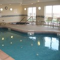 Swimming pool at Fairfield Inn & Suites Ames