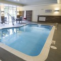Swimming pool at Fairfield Inn & Suites Cambridge