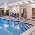 Swimming pool at Fairfield Inn & Suites Coralville