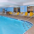 Swimming pool at Fairfield Inn & Suites Dayton Troy