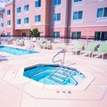 Swimming pool at Fairfield Inn & Suites Marriott