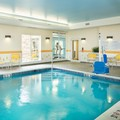 Swimming pool at Fairfield Inn & Suites Monaca Pa