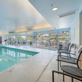 Swimming pool at Fairfield Inn & Suites Naperville
