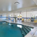 Swimming pool at Fairfield Inn & Suites Newark Liberty Airport