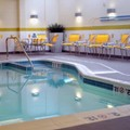 Swimming pool at Fairfield Inn & Suites Quantico Stafford