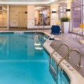 Swimming pool at Fairfield Inn & Suites Utica
