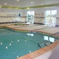 Swimming pool at Fairfield Inn & Suites Weatherford