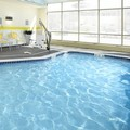 Swimming pool at Fairfield Inn & Suites by Marriott Wheeling