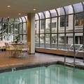 Swimming pool at Fairmont Olympic Hotel