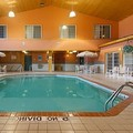 Swimming pool at Flat Creek Inn & Suites