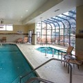 Swimming pool at Fort Collins Courtyard by Marriott