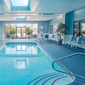 Swimming pool at Four Points by Sheraton Boston Logan Airport