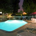 Swimming pool at Gatehouse Suites East Lansing