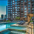 Swimming pool at Global Luxury Suites at Jersey City Waterfront