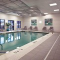 Swimming pool at Global Luxury Suites in White Plains
