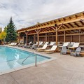 Swimming pool at Grand Lake Lodge