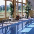 Swimming pool at Grouse Mountain Lodge