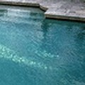 Swimming pool at Hampton Inn
