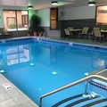 Swimming pool at Hampton Inn Altoona
