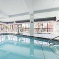 Swimming pool at Hampton Inn Anchorage