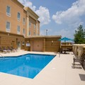 Swimming pool at Hampton Inn Anderson / Alliance Business Park