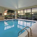 Swimming pool at Hampton Inn Ashtabula