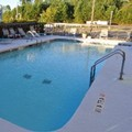 Swimming pool at Hampton Inn Bessemer