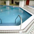 Swimming pool at Hampton Inn Boston / Braintree