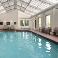 Swimming pool at Hampton Inn Boston Logan Airport