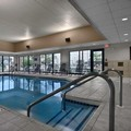 Swimming pool at Hampton Inn Brookfield