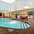 Swimming pool at Hampton Inn Chicopee / Springfield