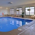 Swimming pool at Hampton Inn Clarion