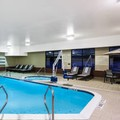 Swimming pool at Hampton Inn Cleveland Airport Tiedeman Road