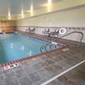 Swimming pool at Hampton Inn Clinton Ia