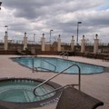Swimming pool at Hampton Inn Corsicana