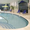 Swimming pool at Hampton Inn Danbury