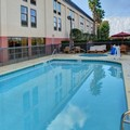 Swimming pool at Hampton Inn Debary