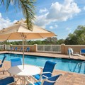 Swimming pool at Hampton Inn Deland
