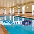 Swimming pool at Hampton Inn Dubuque