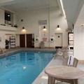 Swimming pool at Hampton Inn East Peoria