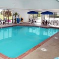 Swimming pool at Hampton Inn Elgin