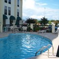 Swimming pool at Hampton Inn Elizabeth City