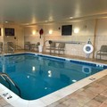 Swimming pool at Hampton Inn Elkins