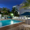 Swimming pool at Hampton Inn Fort Lauderdale Downtown
