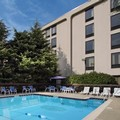 Swimming pool at Hampton Inn Great Valley