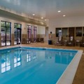 Swimming pool at Hampton Inn Hendersonville