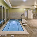 Swimming pool at Hampton Inn Hibbing