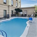 Swimming pool at Hampton Inn Hinesville