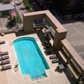 Swimming pool at Hampton Inn Houston Downtown